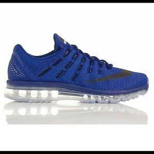 Nike Air Max 2016 Royal Blue806771 401 Mens Sz 8.5